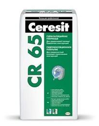 Гидроизоляционное покрытие Ceresit CR 65, 25кг
