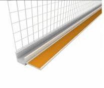 Профиль оконный примыкающий 6 мм с сеткой, длина 3м PROFIGIPS
