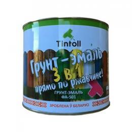 Грунт-эмаль 3в1 антикоррозионная ФА-501 «Tintoll»,