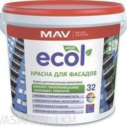 Краска ECOL 32 фасадная (11л)