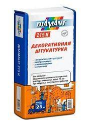 Сухая штукатурная смесь Diamant 215 К (камешковая), 25 кг