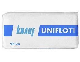 Шпаклевка гипсовая высокопрочная КНАУФ-Унифлот, 25кг