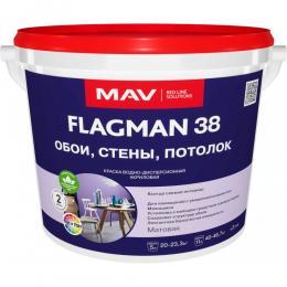 Краска FLAGMAN 38 обои стены потолок(11л)
