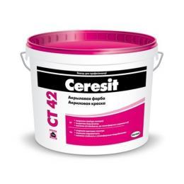Акриловая краска Ceresit CT 42, 15л