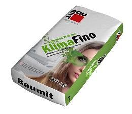Шпатлевка известковая Baumit KlimaFino, Россия, 20кг