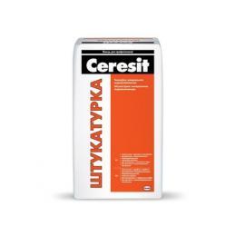 Штукатурка  цементная Ceresit, 25 кг