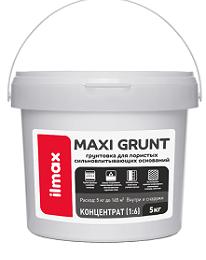 ilmax maxi grunt Грунтовка Для пористых сильновпитывающих оснований (концентрат 1:6)