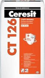 Ceresit CT 126, гипсовая шпатлевка 20 кг