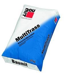 Ремонтная шпаклевка  Baumit MultiTrass, 25кг,   Россия