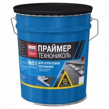 ПРАЙМЕР БИТУМНЫЙ ТЕХНОНИКОЛЬ №01 - ТЕХНОНИКОЛЬ (16кг), гидроизоляция