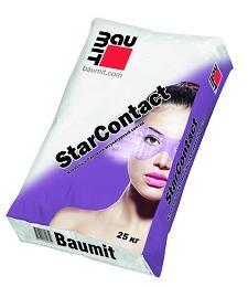 Клей для приклеивания и армирования утеплителя Baumit StarContact. Россия, 25кг