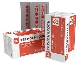 Пенополистирол (XPS) ТЕХНОНИКОЛЬ CARBON PROF 50мм,  5.48 м.кв.