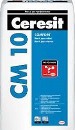 Клей для плитки  CERESIT CM 10, 25кг