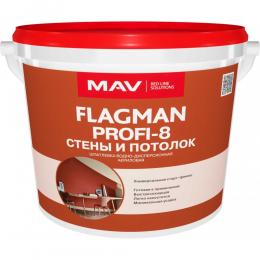 Шпатлевка FLAGMAN PROFI-8 интерьерная старт-финиш(16кг)