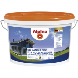 Alpina для деревянных фасадов (Alpina Die Langlebige fuer Holzfassaden), 10 л.
