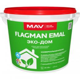 Краска FLAGMAN EMAL ЭКО-ДОМ(5л)