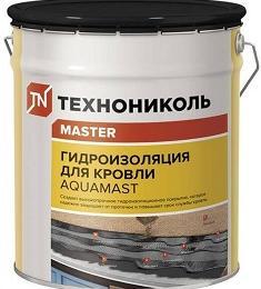 Мастика битумно-резиновая  AquaMast (18 кг), РБ
