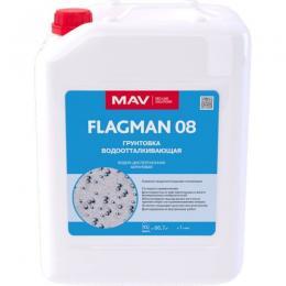 Грунтовка MAV FLAGMAN 08 водоотталкивающая (10л)