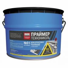 ПРАЙМЕР БИТУМНЫЙ ТЕХНОНИКОЛЬ №01 - ТЕХНОНИКОЛЬ (8кг), гидроизоляция