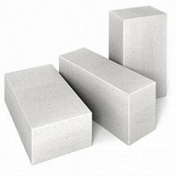 Блоки стеновые из ячеистого бетона 625х100х250