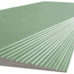 Гипсокартон влагостойкий 12,5 мм 2.5 x 1.2