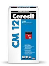 Клей для плитки CERESIT CM 12, 25кг
