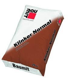 Раствор для лицевого кирпича Baumit Klinker Normal, 25кг
