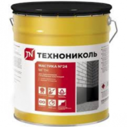 Мастика МГТН №24 ТехноНИКОЛЬ (20кг), гидроизоляция