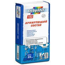 Клей для приклеивания и армирования утеплителя Diamant 182, 25кг