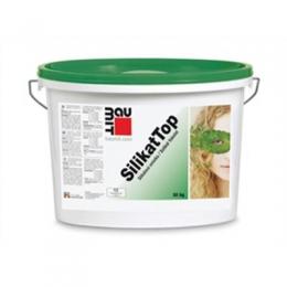 Штукатурка силикатная Baumit SilikatTop, 25 кг (короед), Австрия