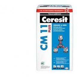 Клей для плитки  Ceresit CM 11 Plus, 25кг