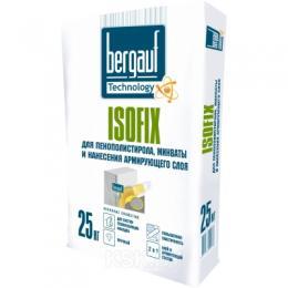 Клей для утеплителя Bergauf Isofix, 25 кг, РБ