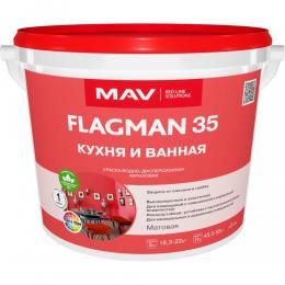 Краска FLAGMAN 35 кухня и ванная (11л)