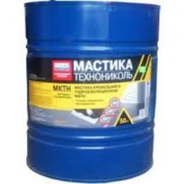 Мастика МКТН (МБПХ) ТехноНИКОЛЬ (50 кг), гидроизоляция