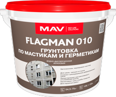 Грунтовка MAV FLAGMAN 010 по мастикам и герметикам 11л (12кг)