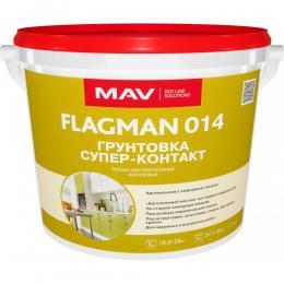 Грунтовка FLAGMAN 014 супер-контакт 11л (13кг)