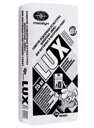Штукатурка цементная защитно-отделочная LUX (Люкс), 25 кг