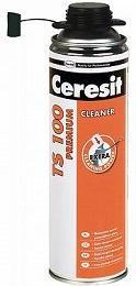 Очиститель  монтажной пены Ceresit TS 100, 500 мл